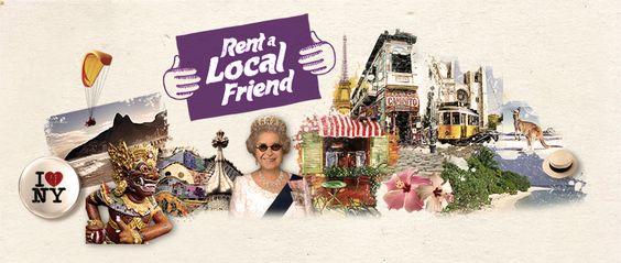 """Rent a Local Friend: """"Alugue"""" um cidadão local e fuja dos roteiros turísticos clichês."""