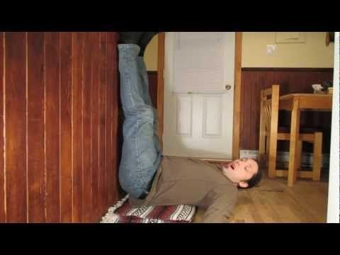 Stress et anxiété vaincue par une posture simple de Yoga! - YouTube