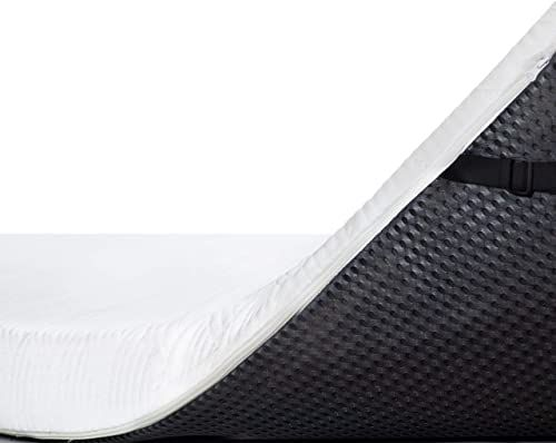 New Viscosoft 4 Inch Active Cooling Memory Foam Mattress Topper