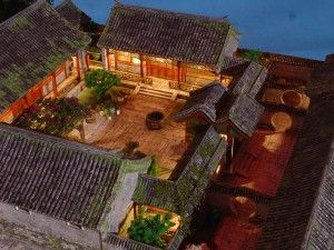 Chinese courtyard house...... if we build instead of buying..... I love the thought of a few simple buildings connected by a private, walled courtyard garden....