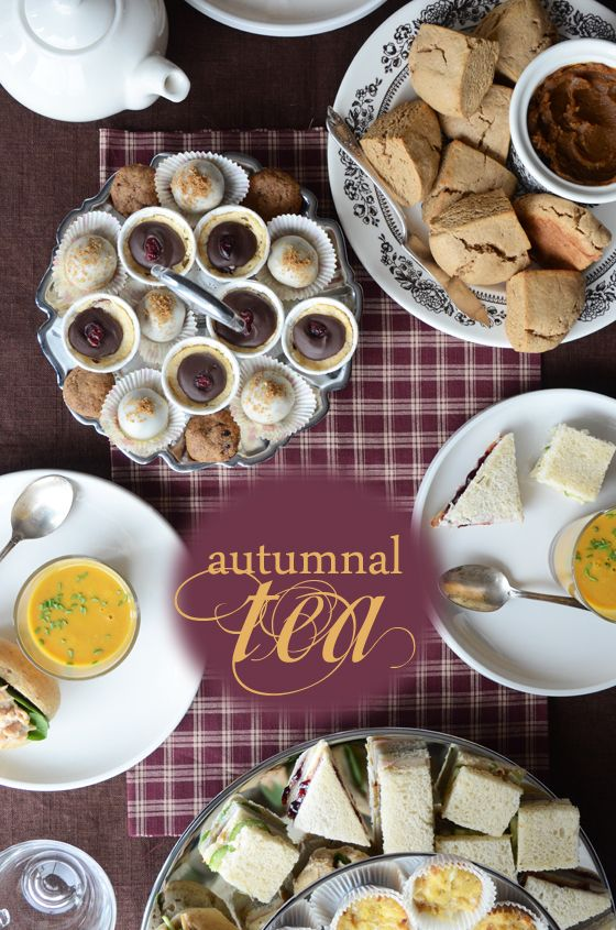 I would love to do this one year! I love Teas! autumnal afternoon tea