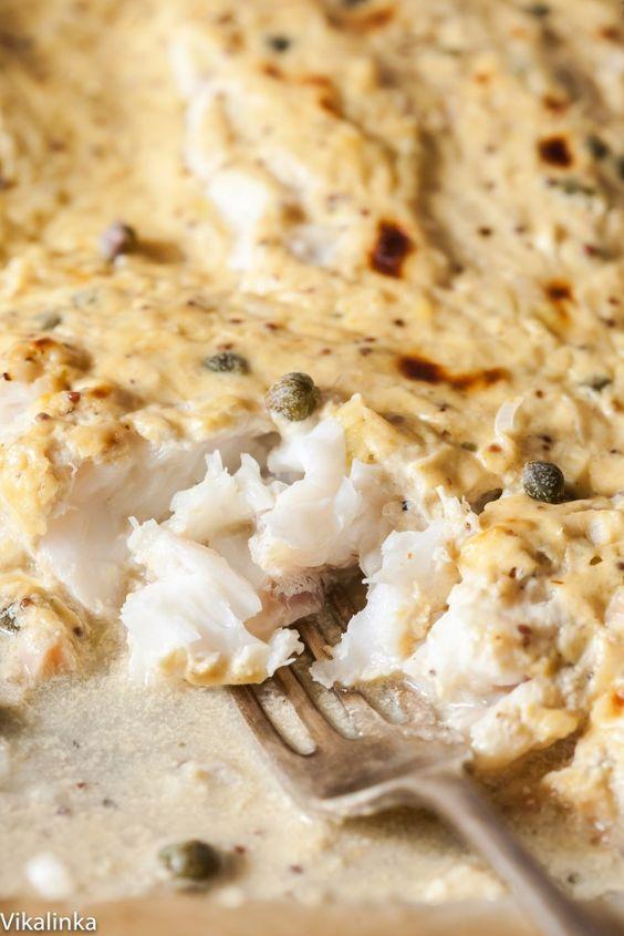 Cod roasted in mustard sauce recipe pinterest ina for Ina garten mustard fish