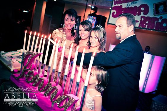 Mitzvah Candle Lighting Boards - Sweet 16 Candelabras  (Shipping Included). $199.00, via Etsy.
