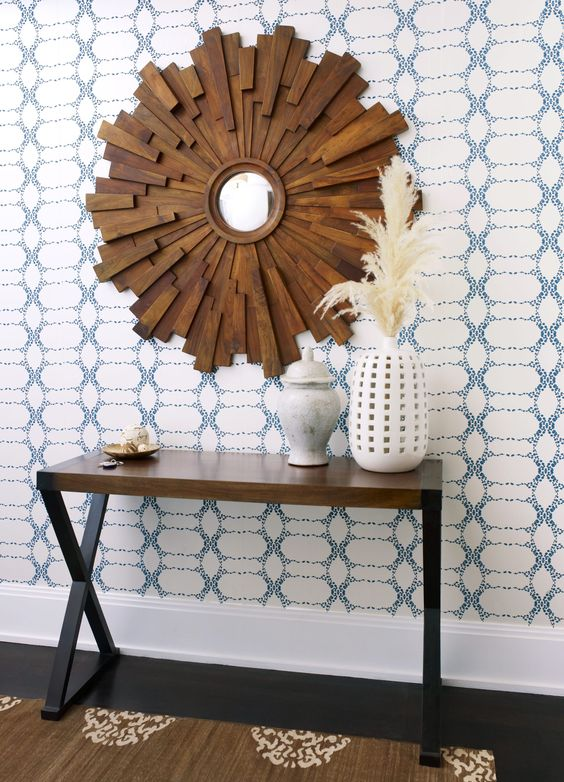 entry - Eclectic - Entryway and Hallway - Images by Allison Robins Lind Interiors   Wayfair