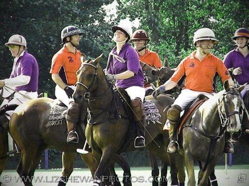 Well done guys, that was a good game!  © Liz Shewan, Photographer  #polo #taunton #horse