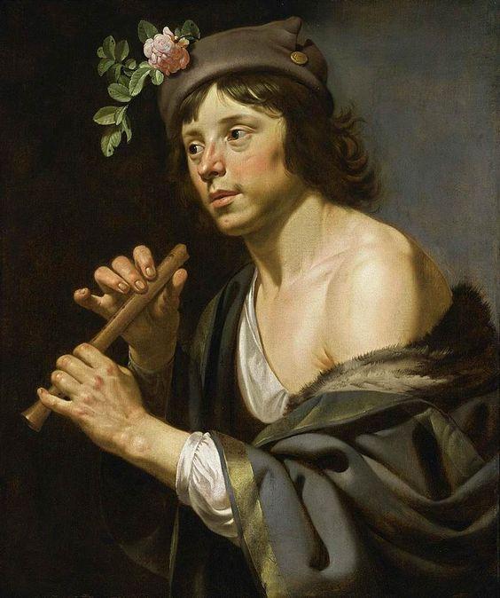 Jan van Bijlert (Dutch, 1597 or 1598-1671). Flute Player