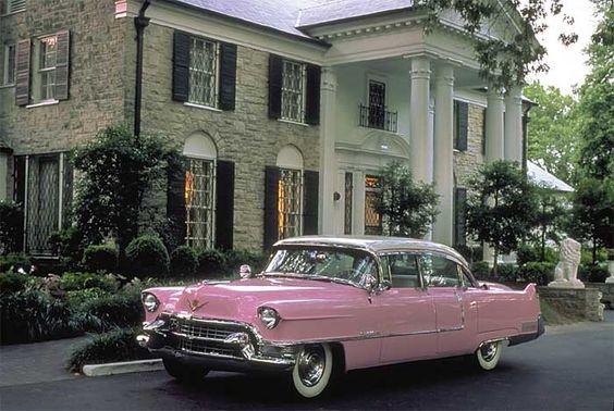 Elvis' 1956 Pink Caddy at Graceland