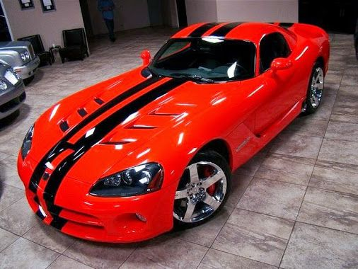 American Cars - 0 Viper GTS. Awesome American Muscle Car!