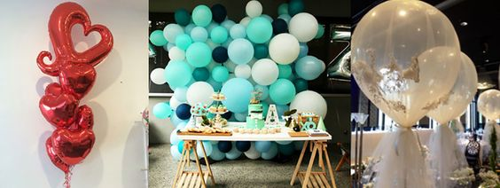 Balloon Bouquet - Balloon Walls - Tulle Balloons