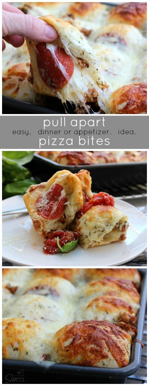 All the best parts of pizza rolled up in tasty crescent dough! This easy pepperoni pizza bread makes a delicious dinner or fun appetizer the whole family will love/5(18).