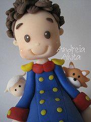04/03 - O Pequeno Príncipe moreninho !! rs Obrigada ao Papai Victor !!