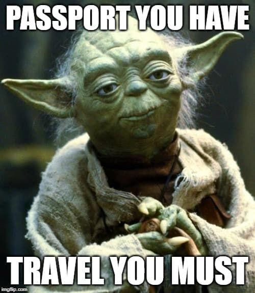 101 Hilarious Travel And Vacation Memes Funny Halloween Memes Yoda Meme Funny Mom Memes
