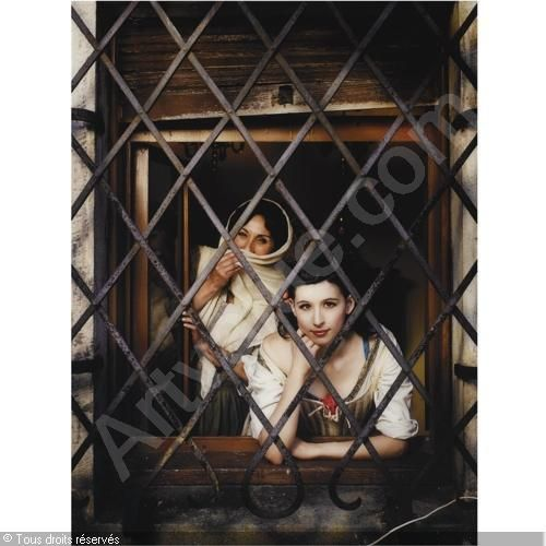 MUJERES EN LA VENTANA, MURILLO (FROM THE SERIES LABORAL ESCENA) vendu par Sotheby's, Amsterdam, on mercredi 16 juin 2010