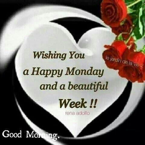 Happy Beautiful Monday morning monday good morning good morning monday quotes