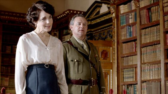 Cora and Robert Downton Abbey Costume designer Susannah Buxton
