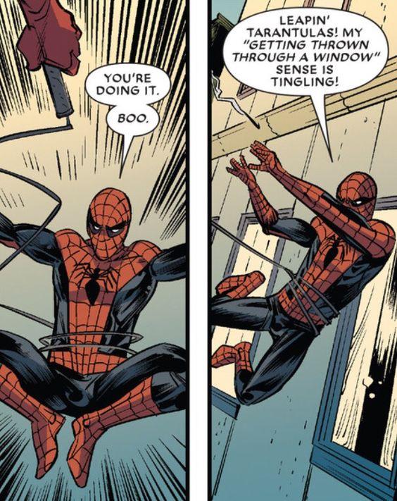 Mostingeniusparadox Marvel Spiderman Superhero Comic Comic Panels