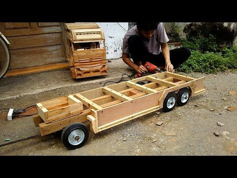 Membuat Miniatur Truck Part 3 Youtube Di 2021 Mobil Miniatur Mainan Anak