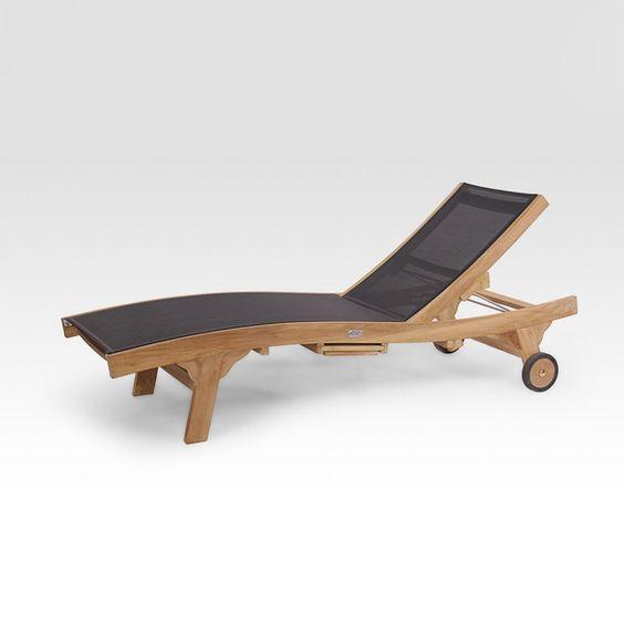 Mod le calypso description chaise longue mat riaux for Chaise longue teck