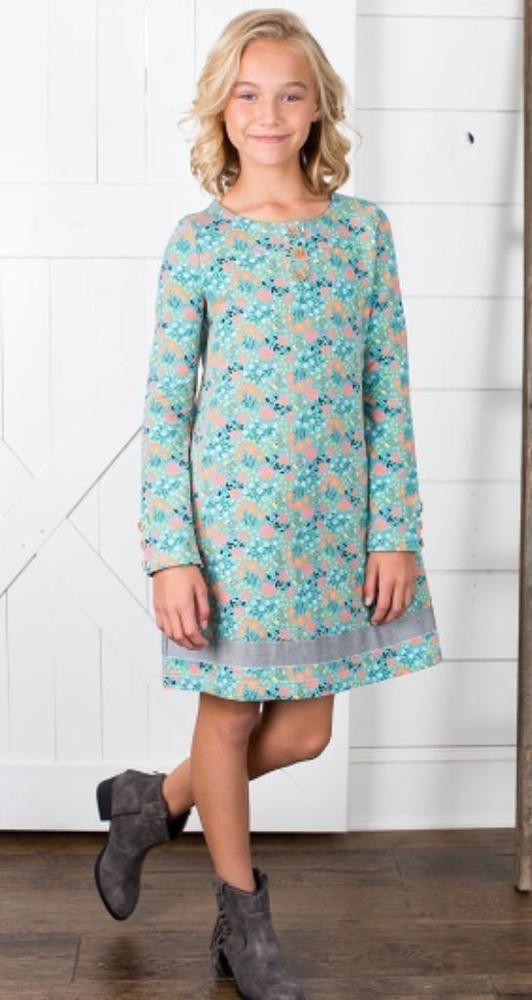 NEW Matilda Jane Joanna Gaines Once Upon A Time Farmland Frolic Dress Size 8 NWT