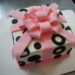 Black Dots Cake.