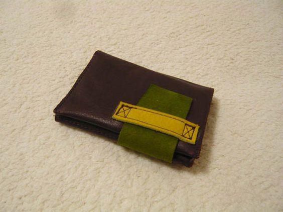 ★革製名刺入れ★やわらかい革のポップな色の組み合わせ|ハンドメイド、手作り、手仕事品の通販・販売・購入ならCreema。