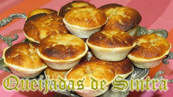 Queijadas de Sintra - doces regionais