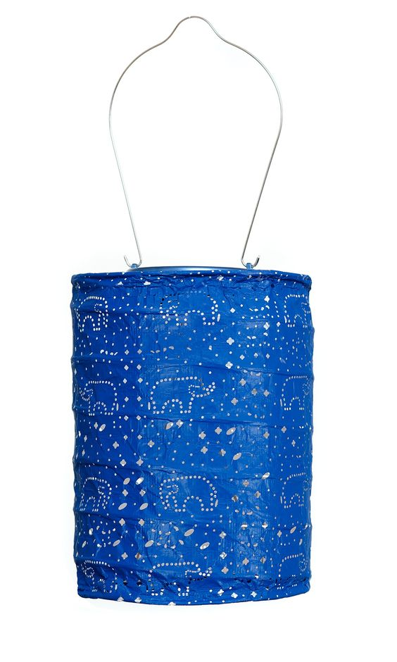 Allsop Home and Garden Soji Stella Dream Solar Lantern Midnight