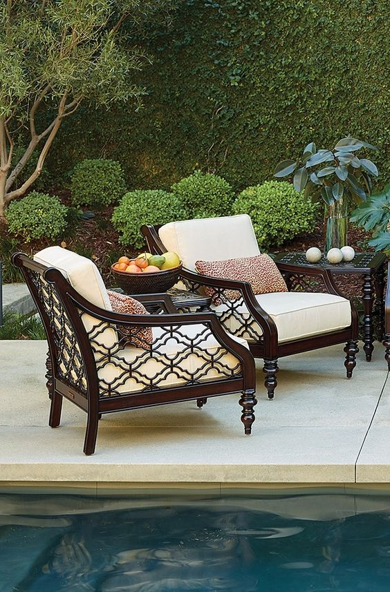 elegance and grace will fill your outdoor living space with the addition of the stunning black. Black Bedroom Furniture Sets. Home Design Ideas