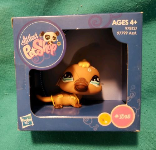 Littlest Pet Shop 150925 New Hasbro Littlest Pet Shop Platypus 1395 Mail In Order Only Rare Lps Buy It Now Only Rare Lps Littlest Pet Shop Pet Shop