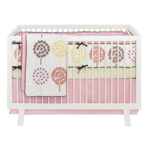 Ooooh, like this one too! Skip Hop 4 Piece Crib Bedding Set, Flower Burst: Baby