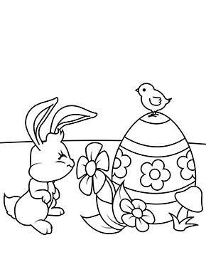 Ausmalbild Osterhase Zum Ausmalen Ausmalbilder Malvorlagen Ostern Osterhase Kindergarten Oster Malvorlagen Blumen Ostern Blumen Ausmalbilder