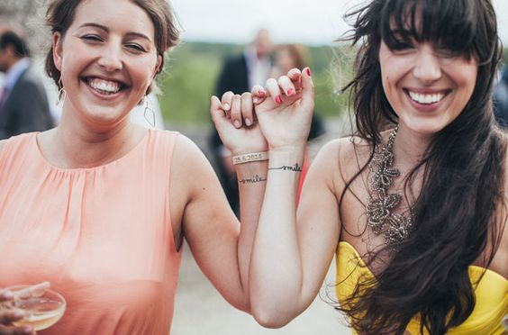 temporary wedding tattoos