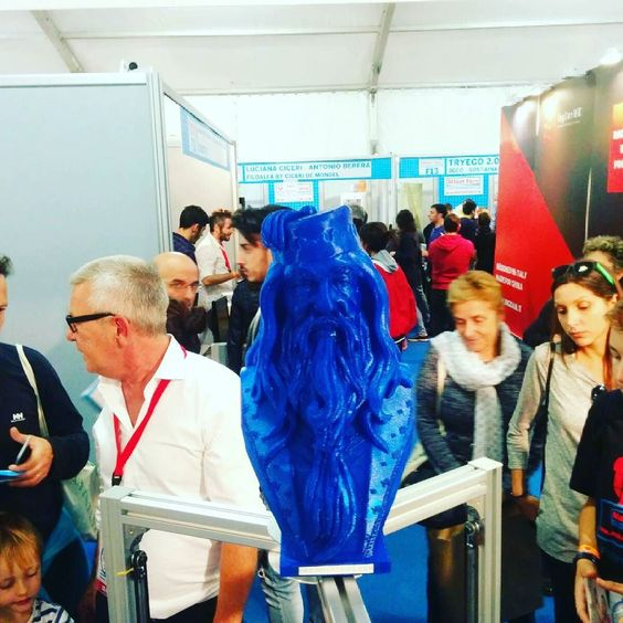 Something we liked from Instagram! Albus is watchin' you @makerfairerome  eweindustries.com  #mfr15 #ewers #eweindustries #era3dprinter #ewefilamentextruder #olympia3dprinter #eweneverstops #stepbystep #stillprinting #printoftheday #instaprint #instapic #picoftheday #instalike #makeinitaly #3dprinter #3dprinting #3dprint #innovation #stampa3d #3digers #artisan2dot0 #artigiano2punto0 #fashion3dprinted by eweindustries check us out: http://bit.ly/1KyLetq