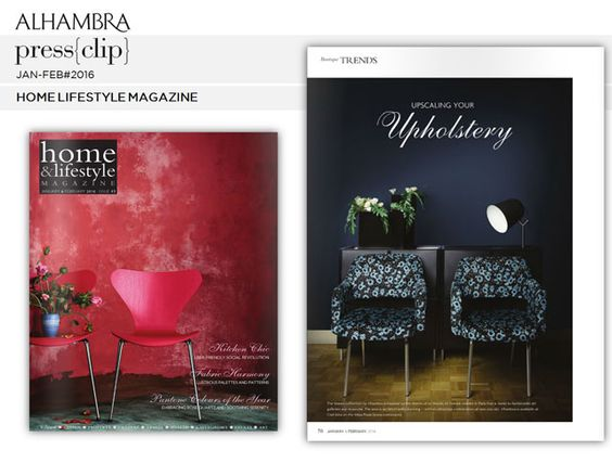 Home Lifestyle Magazine JAN-FEB 2016. #AlhambraInternacional, #Marais