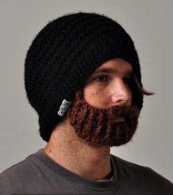 modele tricot bonnet barbe