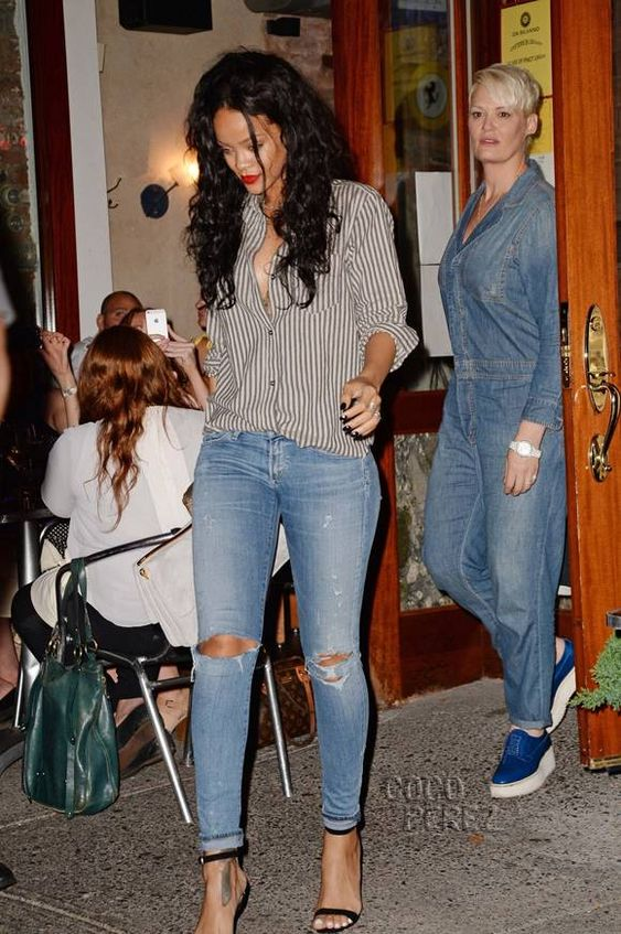 Rihanna Casual Casual Dinner Outfits And Rihanna On Pinterest