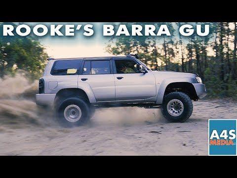 Rooke 603hp Barra Gu Nissan Patrol E85 Gtx3582r Gen2 50mm Turbo Smart Gate Haltech Elite Pro Youtube In 2020 Nissan Patrol Nissan Turbo