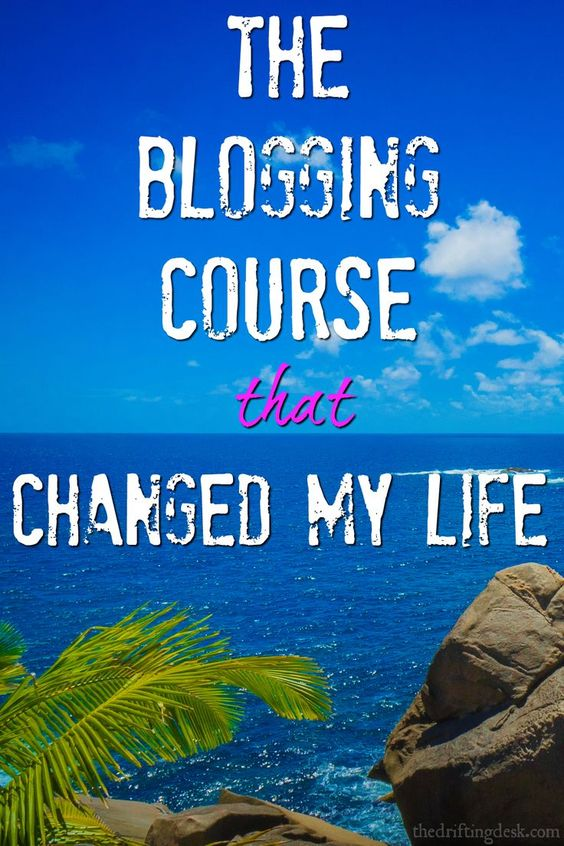 Looking for a life-changing blogging course? I took one that took my blog from getting just a few visitors a day to earning me an income working from anywhere.