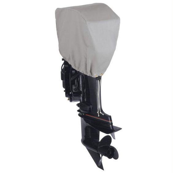 Dallas Manufacturing Co. Motor Hood Polyester Cover 4 - 50 hp - 115 hp 4 Strokes Or 2 Strokes Up To 200 hp