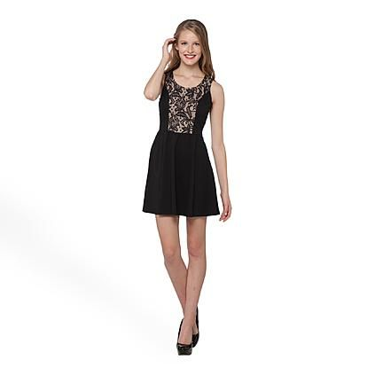 Lace skater dress at Sears