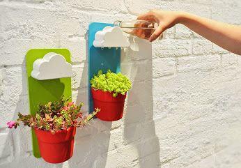 Pote chuvoso - agora suas plantas podem suas próprias nuvens!