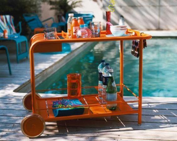 ciao! newport beach: my pool side beverage cart