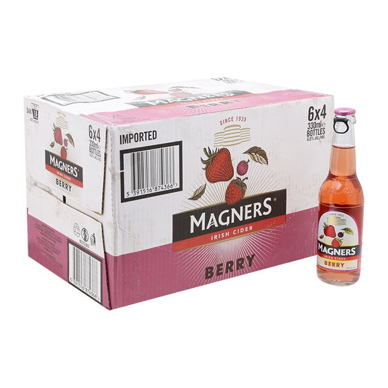 Bia Magners Berry Cider 4,5% - Chai 330ml