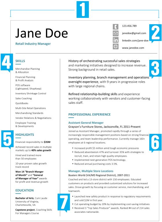 Professional Resume Template for Project Manager Resume Template - resume for assistant manager