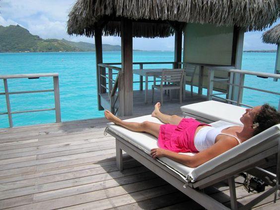 Notre voyage de noces en Polynésie – Bora bora – L'île à l'eau cristalline