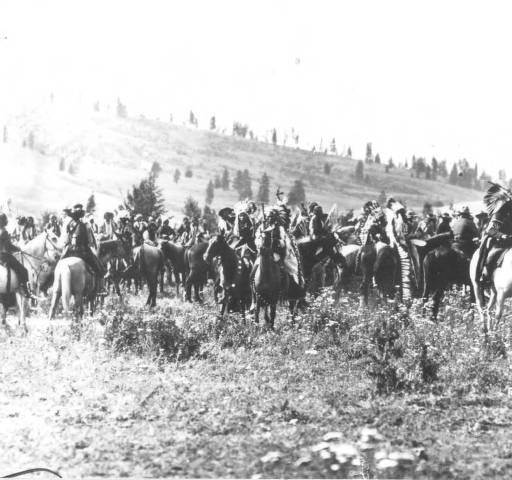 Chief Joseph and Group at Nespelem :: National Park Service (NPS) Nez Perce…