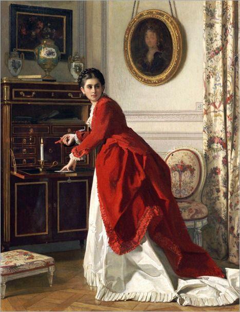Charles Louis Baugniet (1814 – 1886) – Pintor Belga_1