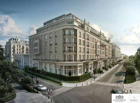 LINLEY Interior Design has produced design options for the interiors of a series of penthouses and apartments at Knightsbridge Private Park. #Interior #Design #Exterior #Moscow #Home #Decorating