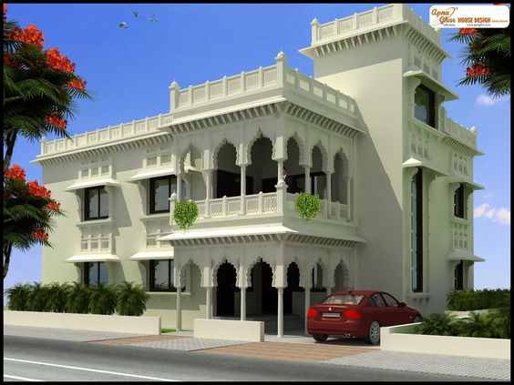Beautiful Intricately Designed Bungalow House Click On