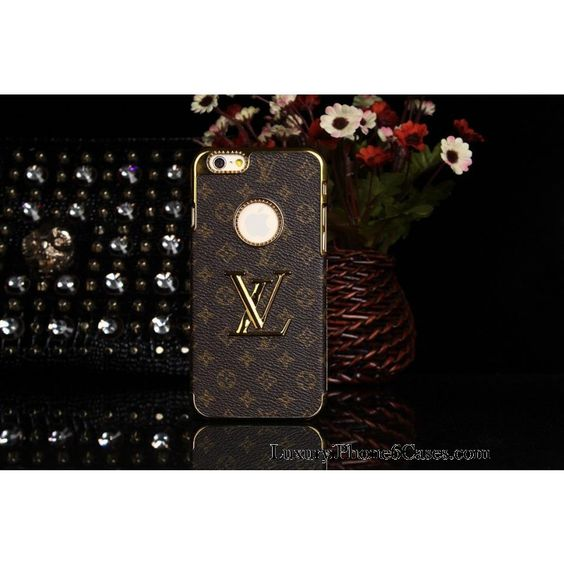 luxury real louis vuitton iphone 6 6 plus leather wallet
